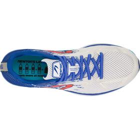 Newton Distance 10 Shoes Men, white/royal